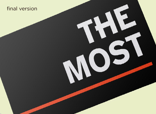 """""""The Most"""""""