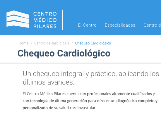Centro Médico Pilares