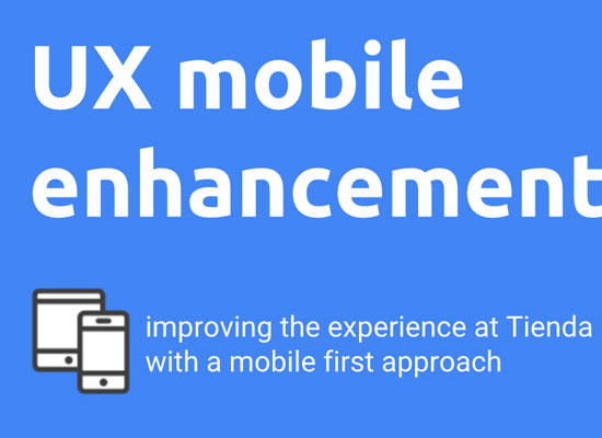 UX Mobile enhancement proposal